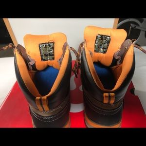 5a542ab0c8a Wolverine W10242 Steel Toe Boots Size 9.5M